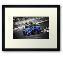 Blue Evo 10 Framed Print