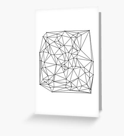 100 dots Greeting Card