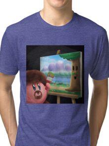 0025 - Happy Little Tree Tri-blend T-Shirt
