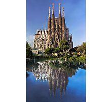 Sagrada Familia church Photographic Print