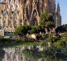 Sagrada Familia church Sticker