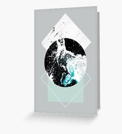 Geometric Textures 2 Greeting Card