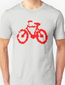 1 bit pixel bike (red) Unisex T-Shirt