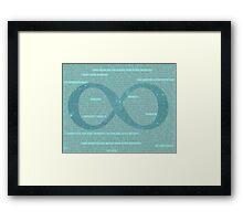 Our Little Infinity Framed Print
