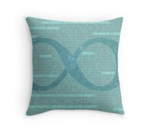 Our Little Infinity Throw Pillow