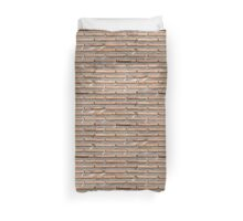 Background of brick wall texture Duvet Cover