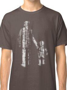 8 bit pixel pedestrians (light) Classic T-Shirt