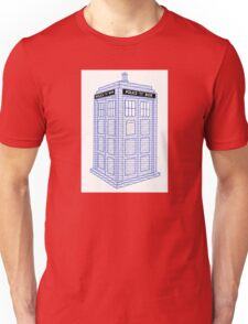 Doctor Who Tardis Typography Unisex T-Shirt