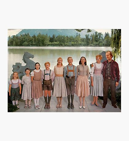 Jack Torrance in The Sound of Music Photographic Print