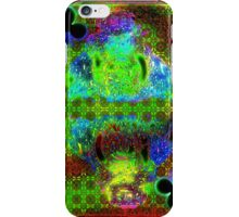 Double Neon King of Clubs iPhone Case/Skin