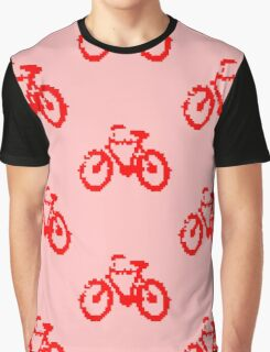 1 bit pixel bike (red) Graphic T-Shirt
