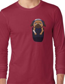 Pakkun in your pocket! Long Sleeve T-Shirt