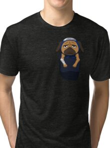 Pakkun in your pocket! Tri-blend T-Shirt