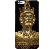 Mask reliquary of Charlemagne, located at Cathedral Treasury in Aachen iPhone Case/Skin
