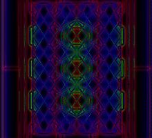Colored Glass Pattern by ronmockjunior