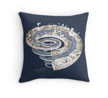 Geologic Period Timeline Throw Pillow