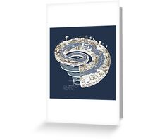 Geologic Period Timeline Greeting Card
