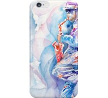 Sax by The Wall iPhone Case/Skin
