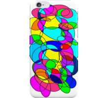New Abstract Color Spirals  iPhone Case/Skin