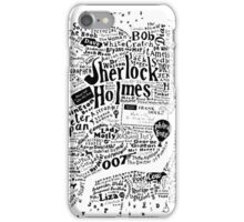 London Words iPhone Case/Skin