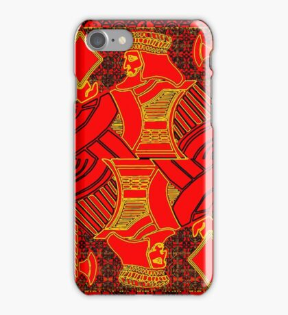 Tricolor King of Diamonds iPhone Case/Skin