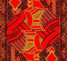 Tricolor King of Diamonds by ronmockjunior