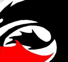 How to Train Your Dragon - Night Fury Logo 1 Sticker