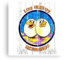 los huevos hermanos Canvas Print