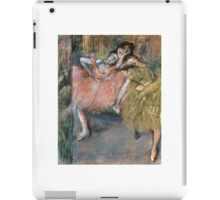 EDGAR DEGAS  - TWO DANCERS BY A HEARTH iPad Case/Skin