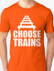Choose Trains Trainspotter T Shirt T-Shirt