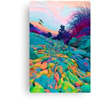 Pathway to the Edge Of  Planet Zorg Canvas Print