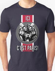 Ici C'est Paris French PSG Soccer Fans T-shirt Case iphone T-Shirt