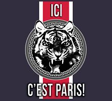 Ici C'est Paris French PSG Soccer Fans T-shirt Case iphone Unisex T-Shirt