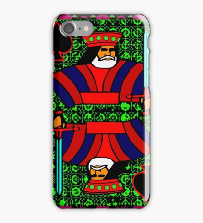 Solarized King of Spades iPhone Case/Skin