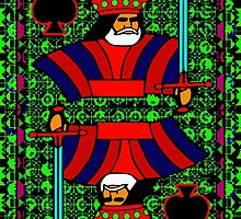 Solarized King of Spades by ronmockjunior