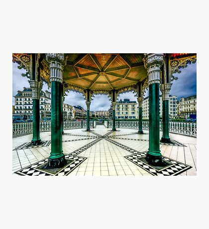 On The Bandstand Photographic Print