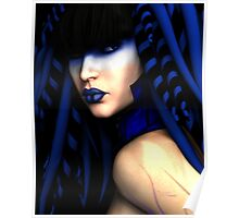 Blue by V. Nicharico Poster