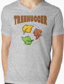 """Earth Day """"Treehugger"""" Mens V-Neck T-Shirt"""