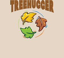 "Earth Day ""Treehugger"" Womens Fitted T-Shirt"