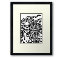 Echoes of fear Framed Print