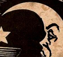 Ouija Moon Sticker