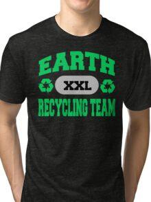 Earth Day Recycling Team Tri-blend T-Shirt