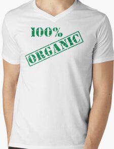 Earth Day 100% Organic Mens V-Neck T-Shirt