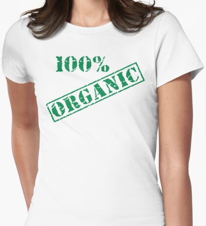 Earth Day 100% Organic Womens Fitted T-Shirt