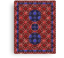 Glossed Pattern Canvas Print