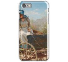 Edward Lamson Henry, American (Charleston, SC - 1919 Ellenville, NY) Title The Message iPhone Case/Skin