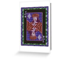 Art Gloss Jack of Diamonds Greeting Card