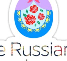 Russian Doll Pun Sticker
