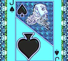 Art Gloss Jack of Spades by ronmockjunior
