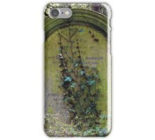 Highgate Cemetery Rosetta Gravestone iPhone Case/Skin